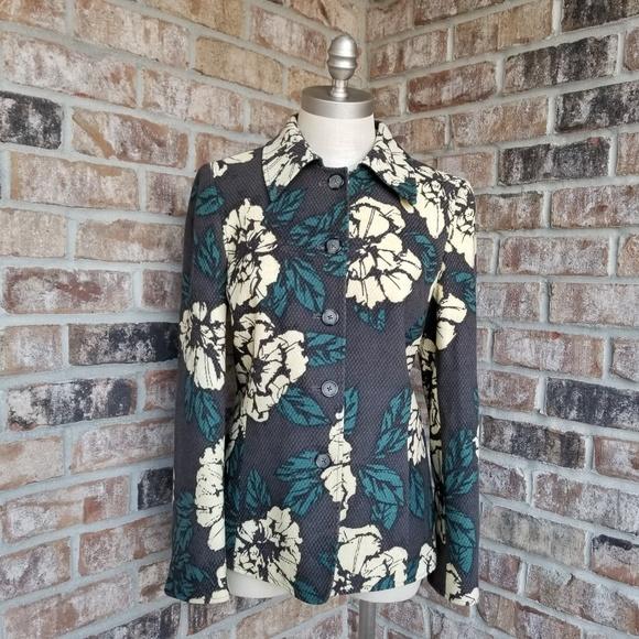Ellen Tracy Jackets & Blazers - Ellen Tracy floral blazer (2)